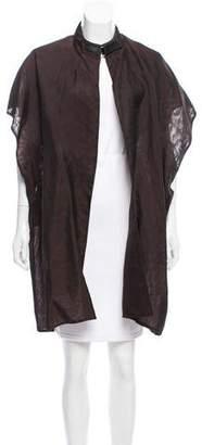 Dusan Silk Oversize Vest