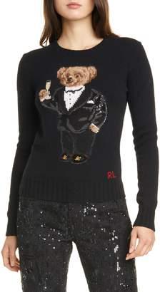 Polo Ralph Lauren Tux Bear Crewneck Sweater