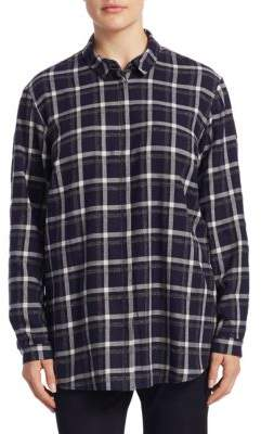 Sabira Plus Gingham Shirt