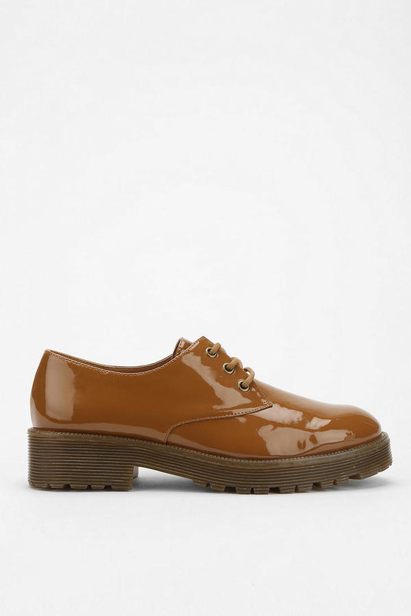 Urban Outfitters Cooperative Vegan Patent Gum Sole Oxford