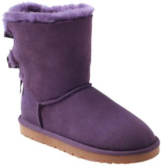 UGG Ozwear Ozwear Two Bowknots Lovely Snow Boots