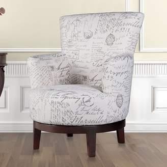 Lark Manor Aldridge Swivel Armchair