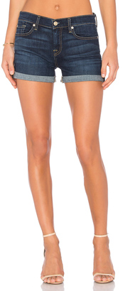 7 For All Mankind Roll Up Short $129 thestylecure.com