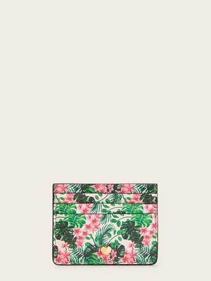 Shein Tropical Print Card Holder