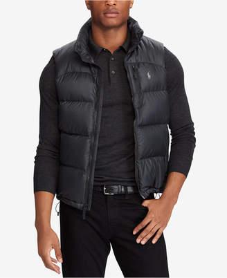 Polo Ralph Lauren Men Water-Repellent Down Vest