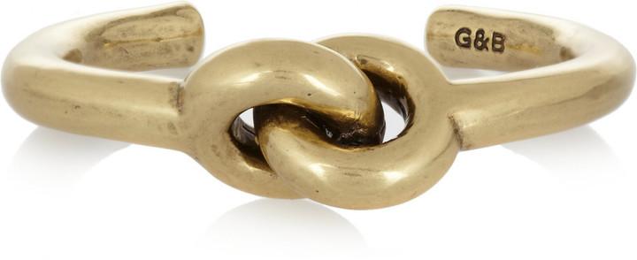 Giles & Brother Archer gold-tone cuff