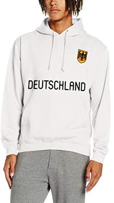 Toffs Retro Football Men's Germany Long Sleeve Hoodie