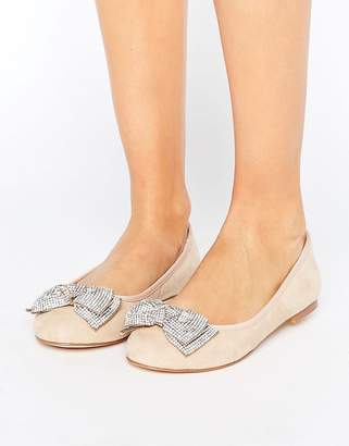 Faith Ackley Embellished Flat Shoes