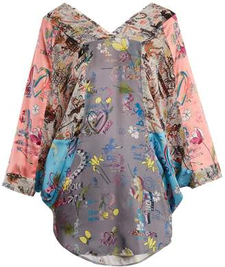 VIVIENNE WESTWOOD ANGLOMANIA Musa batwing-sleeve blouse