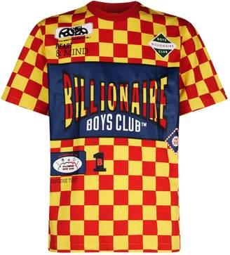 Billionaire Boys Club Checkerboard Track Team T-Shirt