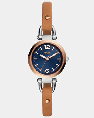 Fossil Georgia Brown Analogue Watch
