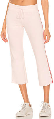 David Lerner Crop Flare Lounge Pant