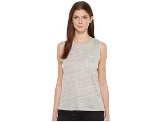 Blank NYC Sleeveless Tank Top in Embrace The Gray Women's Sleeveless