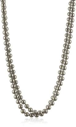 "Carolee Charcoal Pearl Basics Simulated Pearl 72"" Charcoal Necklace"