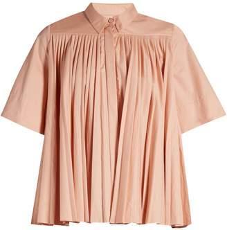 Roksanda Mikula gathered-yoke shirt
