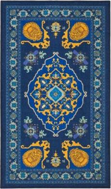 Disney Safavieh Collection Inspired by Disney's Live Action Film Aladdin- Magic Carpet Purple/Gold Area Rug
