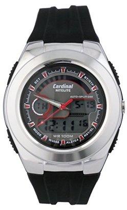 Cardinal Sportzクオーツアナデジ腕時計