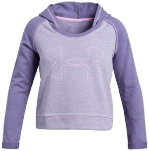 Under Armour Big Girls Rival Logo Hoodie