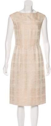 Tory Burch Printed Sheath Midi Dress