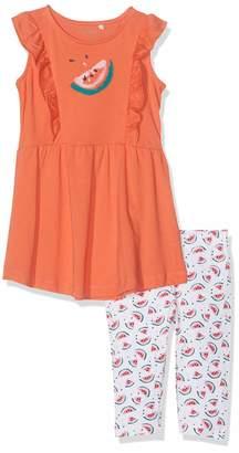Name It Baby Girls' Nmfvenus Set H Clothing Orange Emberglow 92