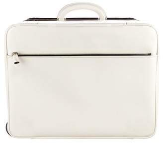 Valextra Leather Carry On