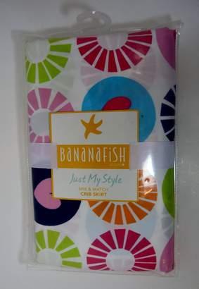 Banana Fish BananaFish Studio Collection Circle & Hearts Crib Bedding Skirt