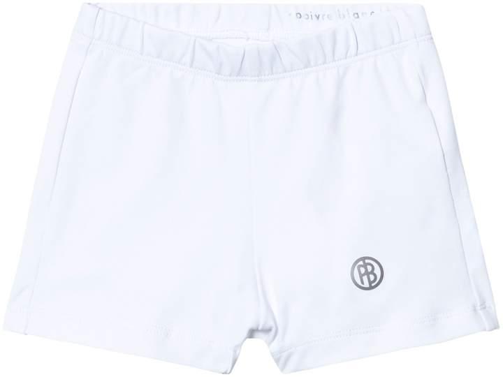 Poivre Blanc White Classic Tennis Shorts