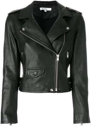 IRO cropped biker jacket