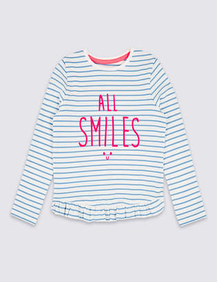 Marks and Spencer Cotton Top with Stretch (3 Months - 7 Years)