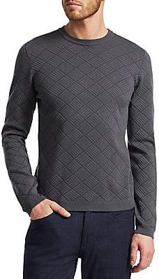 Giorgio Armani Men's Diamond Patter Sweatshirt