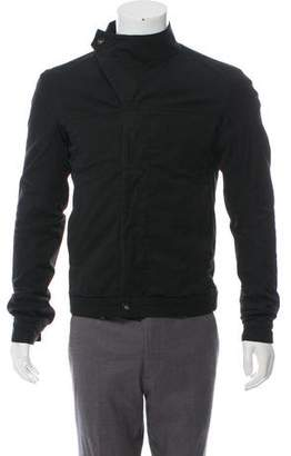 Rick Owens Asymmetrical Button-Up Jacket