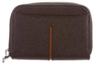 Tod's Leather Zip Wallet