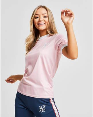 SikSilk Women's Shadow Stripe T-Shirt