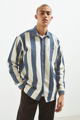 Levi's Levi's Silvertab Vertical Stripe Denim Button-Down Shirt