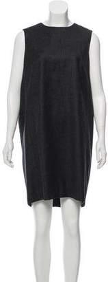 Saint Laurent Wool High-Low Dress