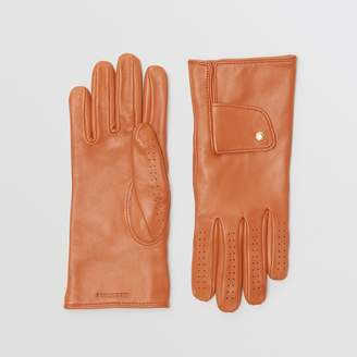 Burberry Cashmere-lined Lambskin Gloves