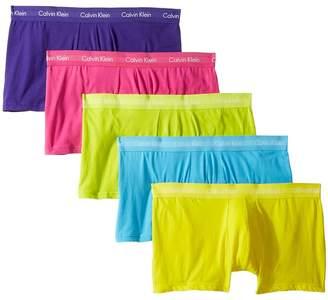 Calvin Klein Underwear Cotton Stretch Pride Pack Low Rise Trunk Men's Underwear
