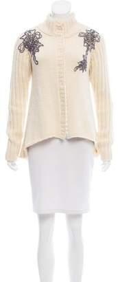 Pierre Balmain Embellished Knit Cardigan