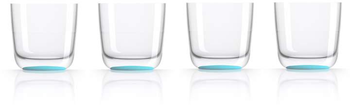 Palm Products - Whisky-Glas 285 ml (4er-Set), Blau