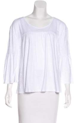Sanctuary Ruched Long Sleeve Top