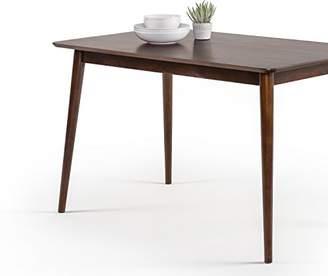 Mid-Century MODERN Zinus Wood Dining Table/Espresso