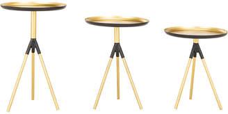 Safavieh Talon Metal Side Table Set Of 3