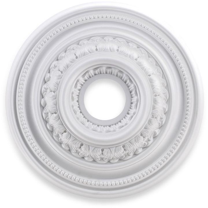 ELK Lighting English Study 18-Inch Ceiling Medallion in White