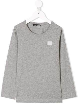 Acne Studios Mini Nash Face long sleeve T-shirt