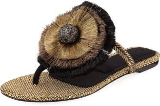 Zarina Flat Thong Sandal