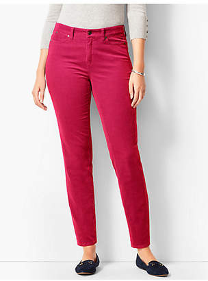 Talbots Slim Ankle Pants - Curvy Fit/Cord