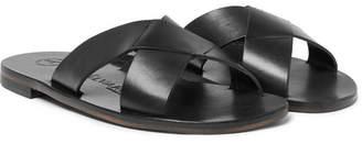 Álvaro Antonio Leather Slides