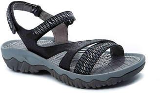 Women's Tipper Flat Sandal -Black $69 thestylecure.com