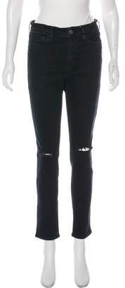MiH Jeans Mid-Rise Skinny Jeans w/ Tags
