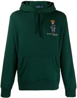 Polo Ralph Lauren logo drawstring hoodie